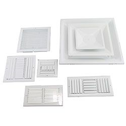 Grills, Registers & Diffusers